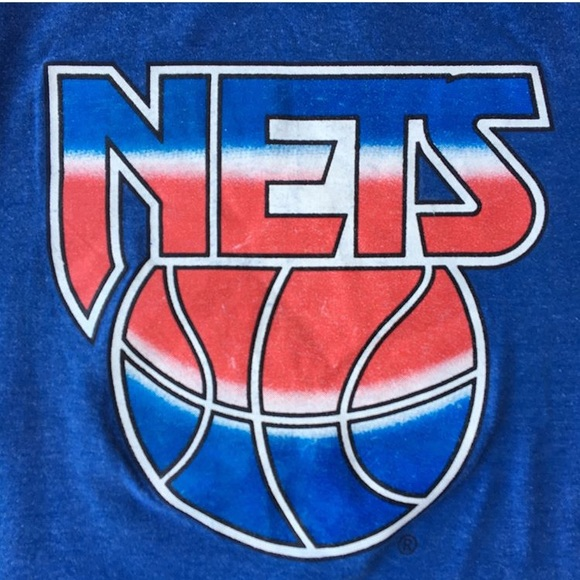 cheap for discount 1f40f 18918 New Jersey Nets Tee